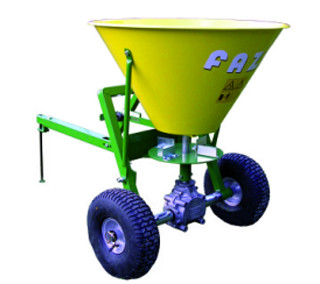 Trailed fertilizer spreader (50-800 l)