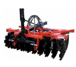 Trailed-mounted disc harrow