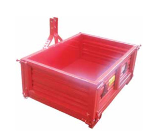 Transport box (mounted)