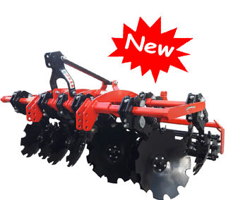 """Tiger Disc"" disc harrow for vineyards"
